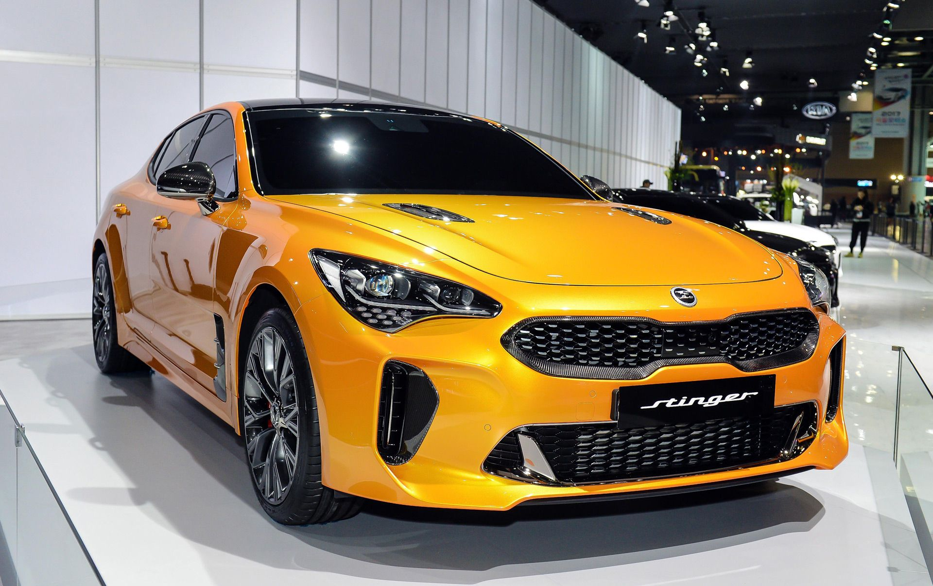 Kia Stinger 0 60 Time Under 4.9 Seconds