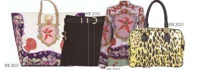 flavia schwab: Riachuelo & Versace