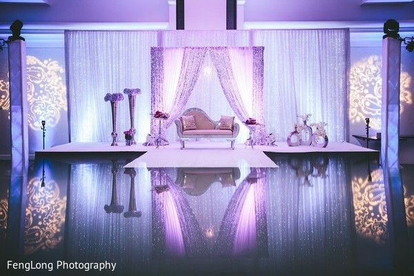 Sweetheart Stage In Hilton Head Island SC Indian Wedding By