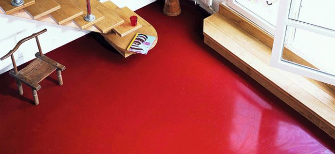 Nippon Paint Malaysia Colour Code: Red Apples NP AC 2075 A #paintcement  #paintallsurfaces