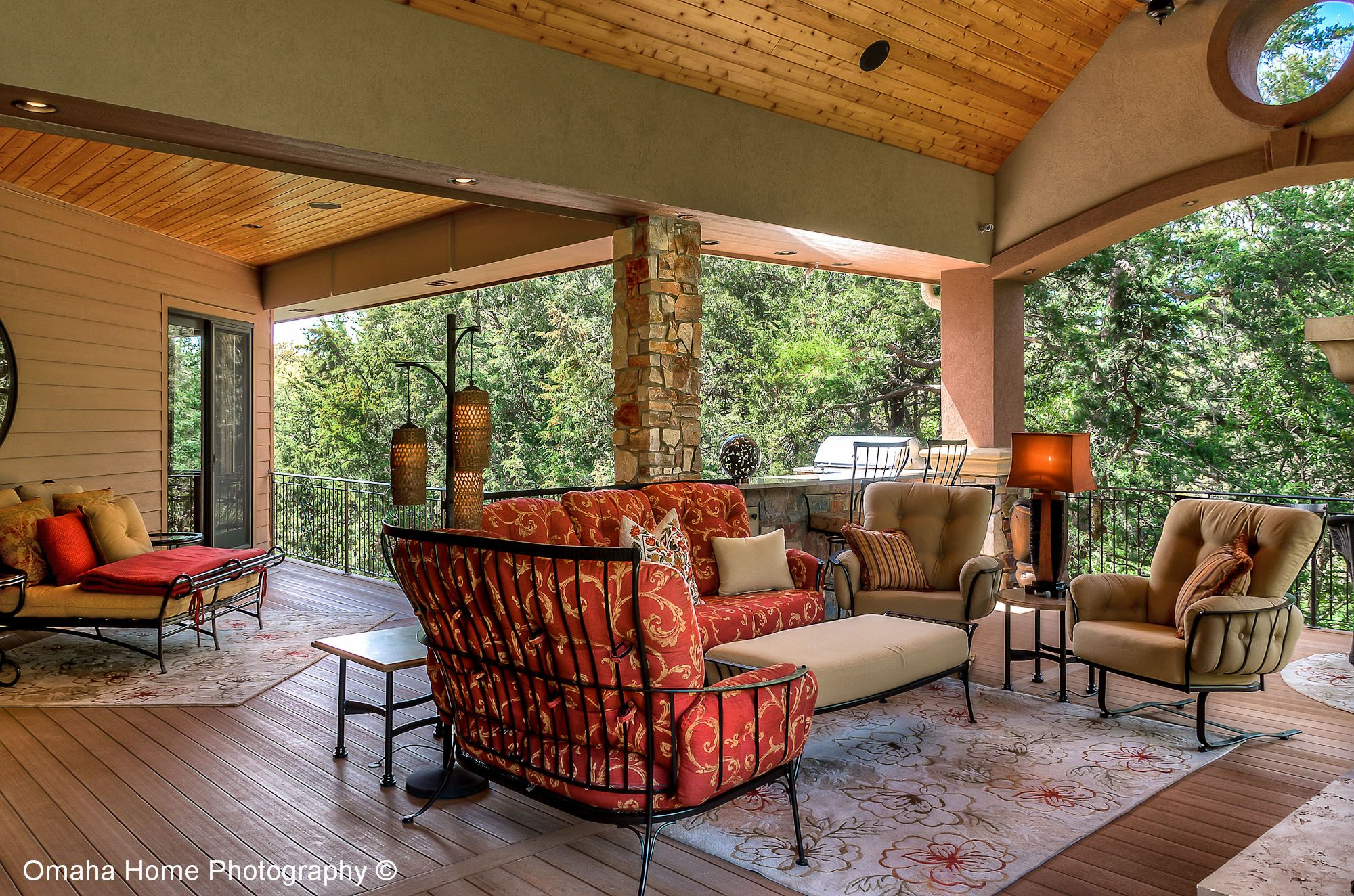 Deck Of Home In The Sanctuary Omaha Ne Listed And Sold By Pat Lichter Np Dodge Real Estate Outdoor Living Outdoor Living Space Outdoor Decor