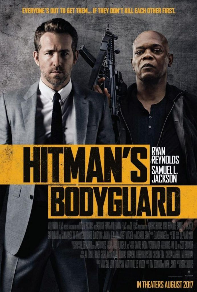 The Hitman S Bodyguard Ryan Reynolds Protects Samuel L Jackson
