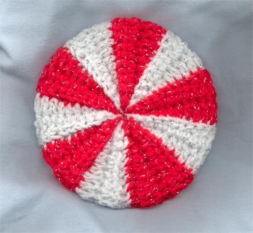Crochet A Peppermint Candy Coaster Cover CD