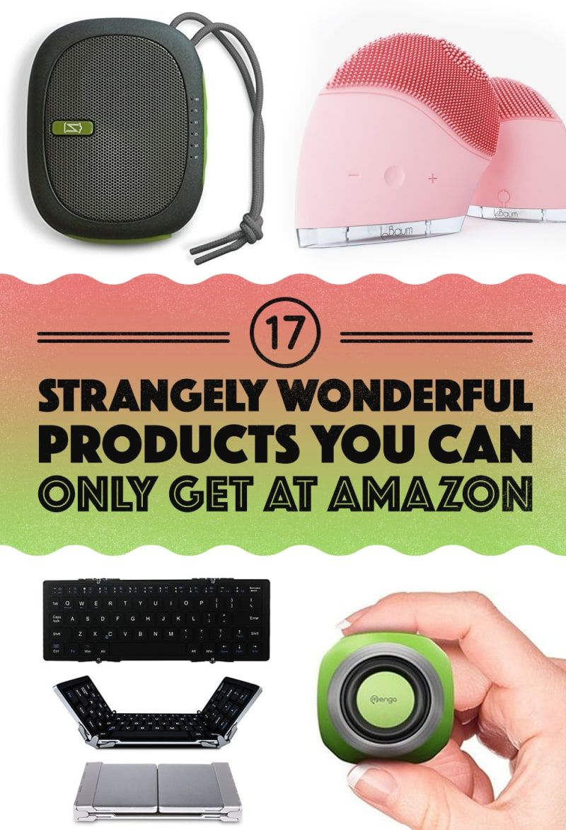 17 awesomely weird things you can only get at amazon