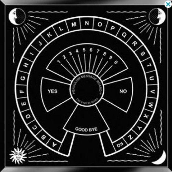 Soft image inside printable pendulum board