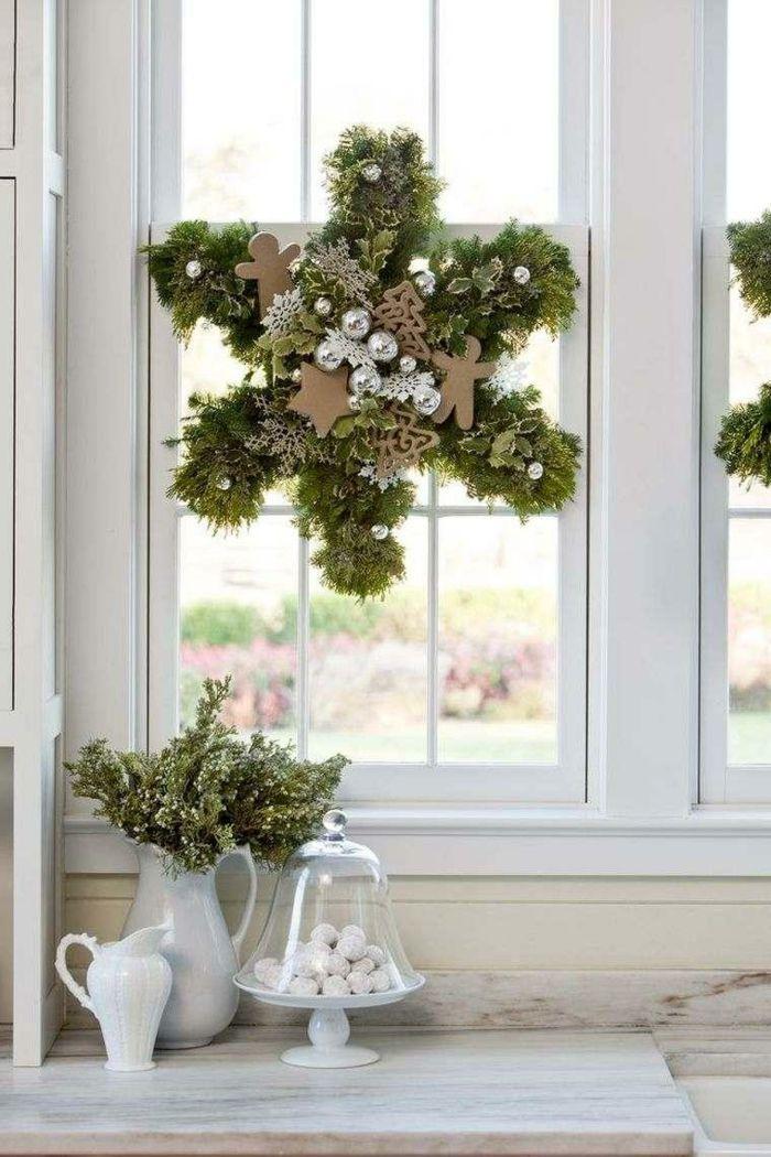 Weihnachtsdeko Fenster - 30 hervorragende Fensterdeko Ideen mit ...