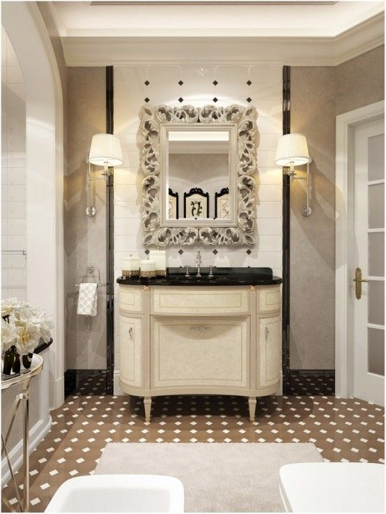 Good Coco Chanel Inspired Bathroom Decor