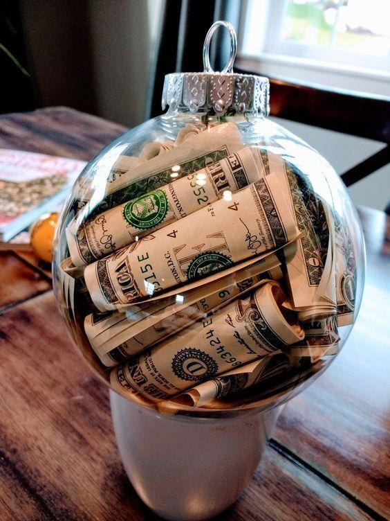 Pinterest Christmas Money Homemade Christmas Gifts Diy Christmas Ornaments Easy