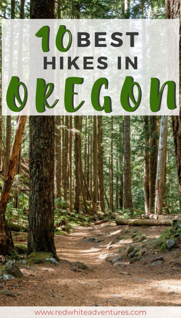 Top 10 Oregon Waterfall Hikes - Red White Adventures #oregoncoast