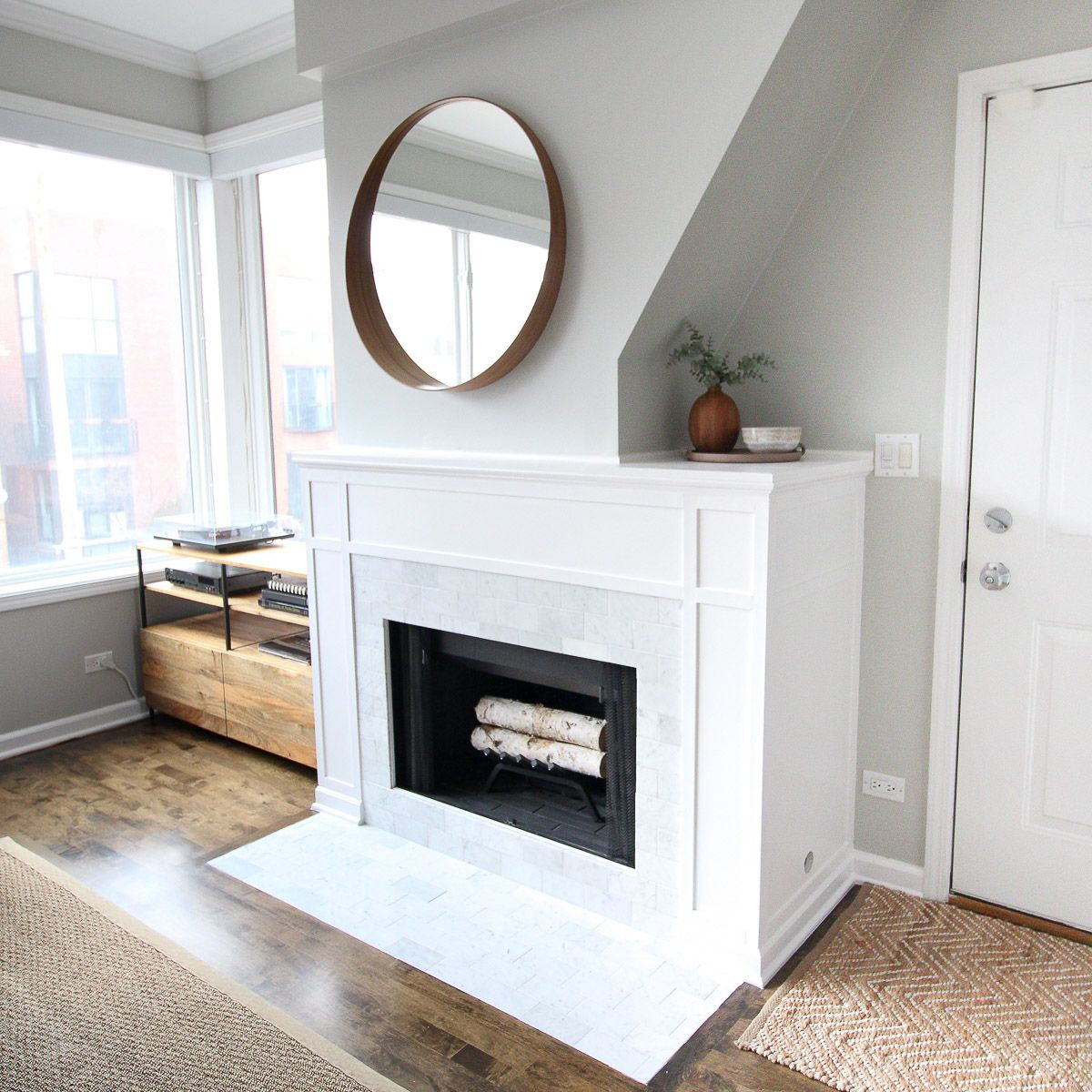 DIY Marble Fireplace Makeover (With images) Fireplace