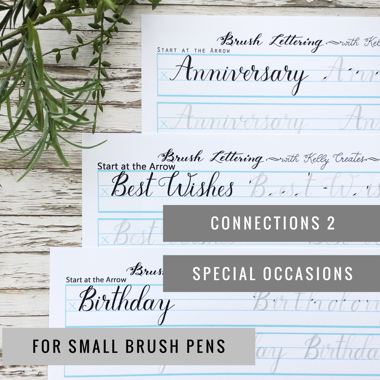 New Connections Worksheets For Small Brush Pens Brush Pen Lettering Fonts Hand Lettering [ 1280 x 1280 Pixel ]