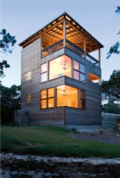 Modern Residential Addition Tower House By Andersson Wise