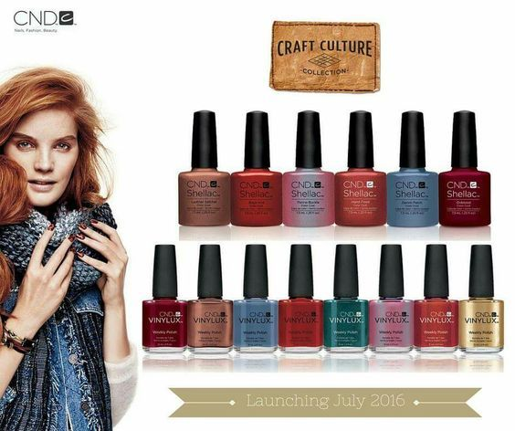 Nail Trends Fall 2016: Fall Nail Polish Trends Review 2016: CND Shellac 14 Day