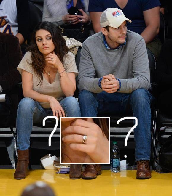 Mila Kunis & Ashton Kutcher Are Working On Their Wedding