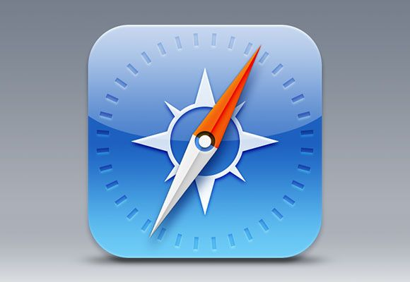 iOS7 Safari icon PSD by Sam Beckett: http://dribbble.com/samjohnbeck