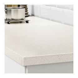 Oxsten Maatwerkblad Wit Mineraalpatroon Kwarts 45 1 63 5x3 8 Cm Ikea Ikea Spaanplaat Wit