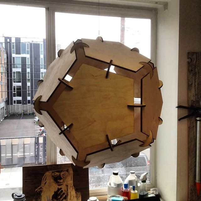 laser cut dodecahedron - Google Search | Laser and Die Cutting