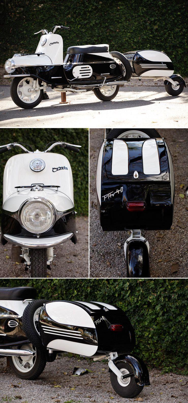 1958 CZ Cezeta 501 By Austin Paintworks Retro scooter