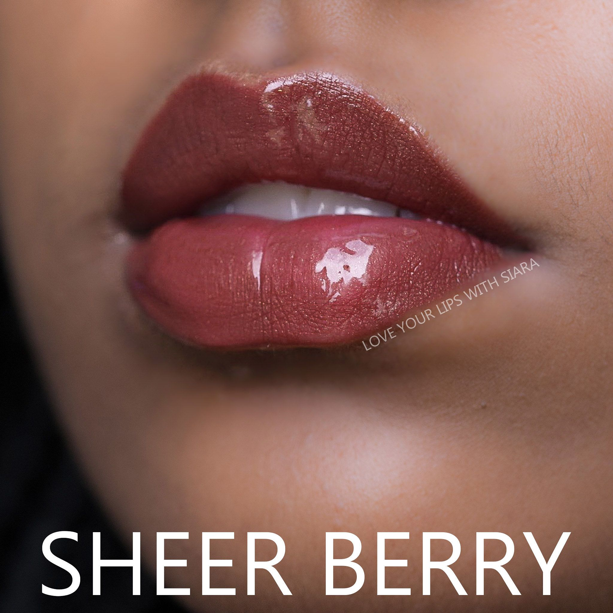Sheer Berry W Glossy Gloss Lipsense Colors Lips