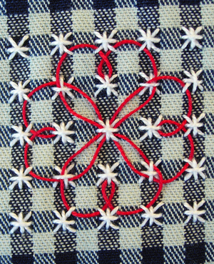 Chicken-scratch embroidery                                                                                                                                                      Más