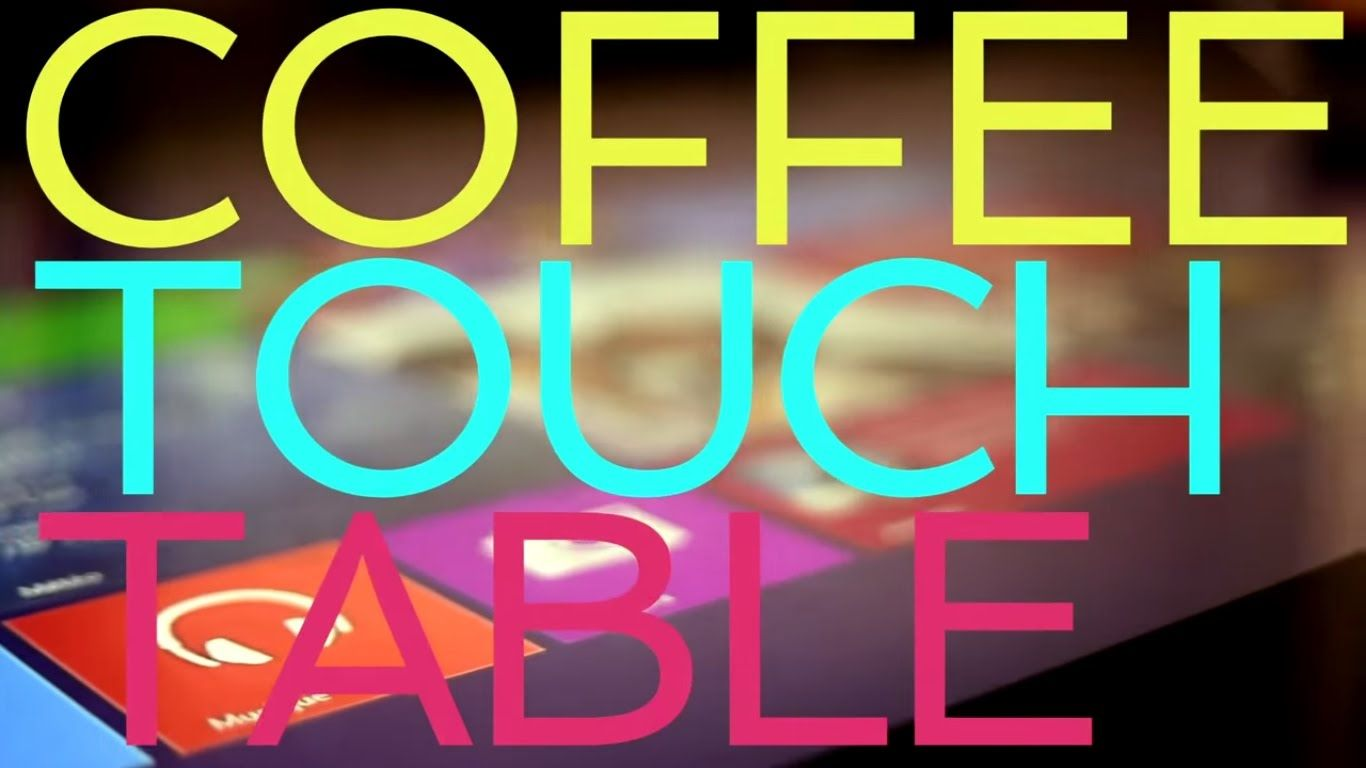 Humelab Coffe Touch Table Tabata S Commercial With