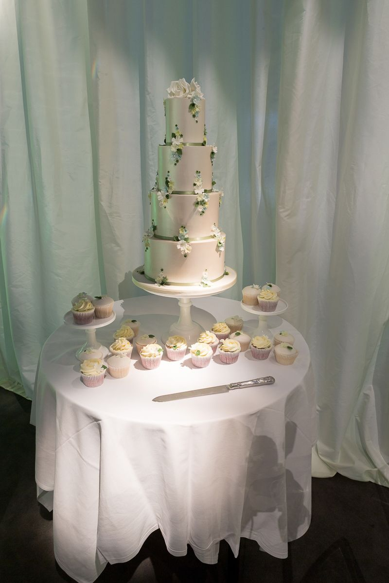 The Wedding Cake Set Up At Hangar Milsoms Kesgrave Hall Near Ipswich Suffolk Ready