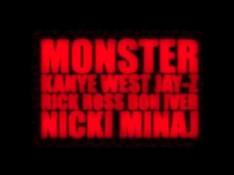 09 Kanye West Ft Jay Z Nicki Minaj Rick Ross And Bon Iver Monster Diablo