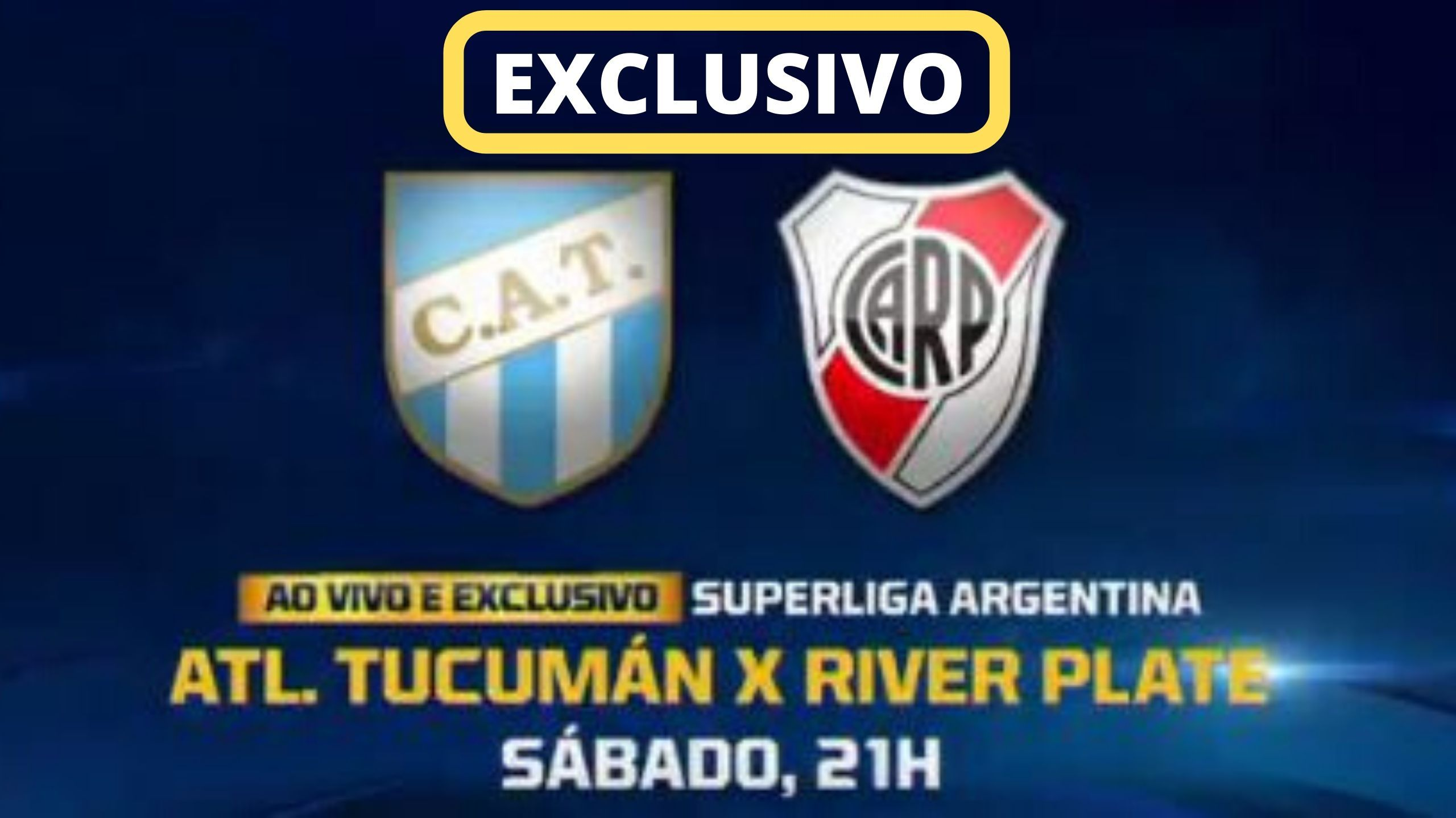 Assistir Atlético Tucumán VS River Plate ao Vivo