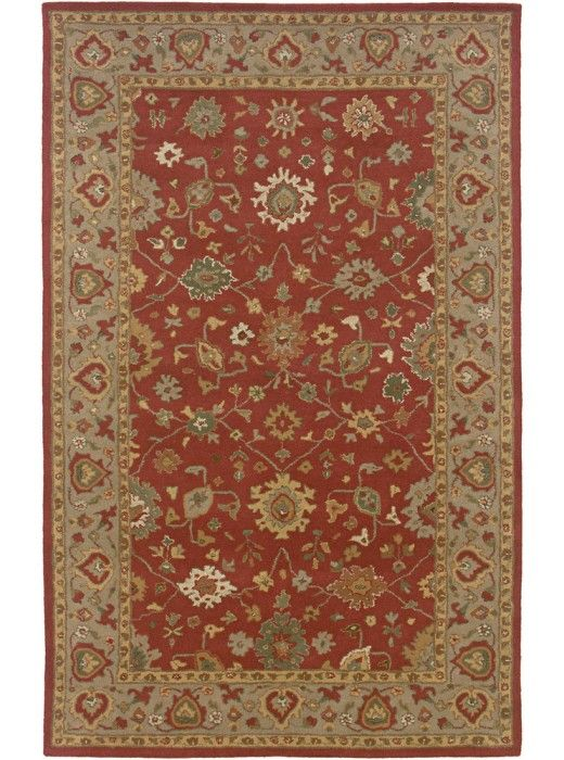 This Jubilee Collection earth tone rug (JU0089) is manufactured by Rizzy Rugs. Old world class never goes out of fashion.