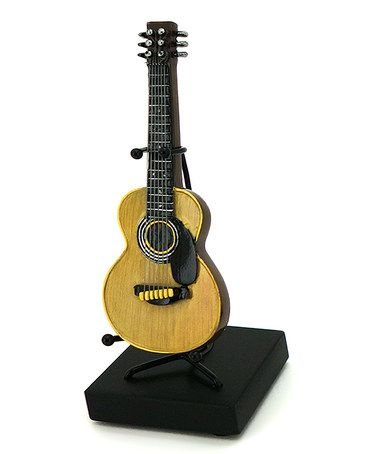 Classic Acoustic Guitar Figurine Guitar Figurine Guitar Acoustic Guitar