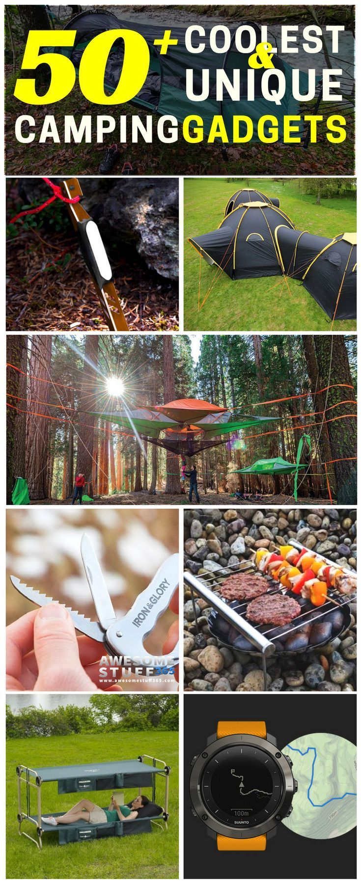 75+ Of The Coolest Camping Gadgets & Unique Products For Campers -  Take camping to the next level