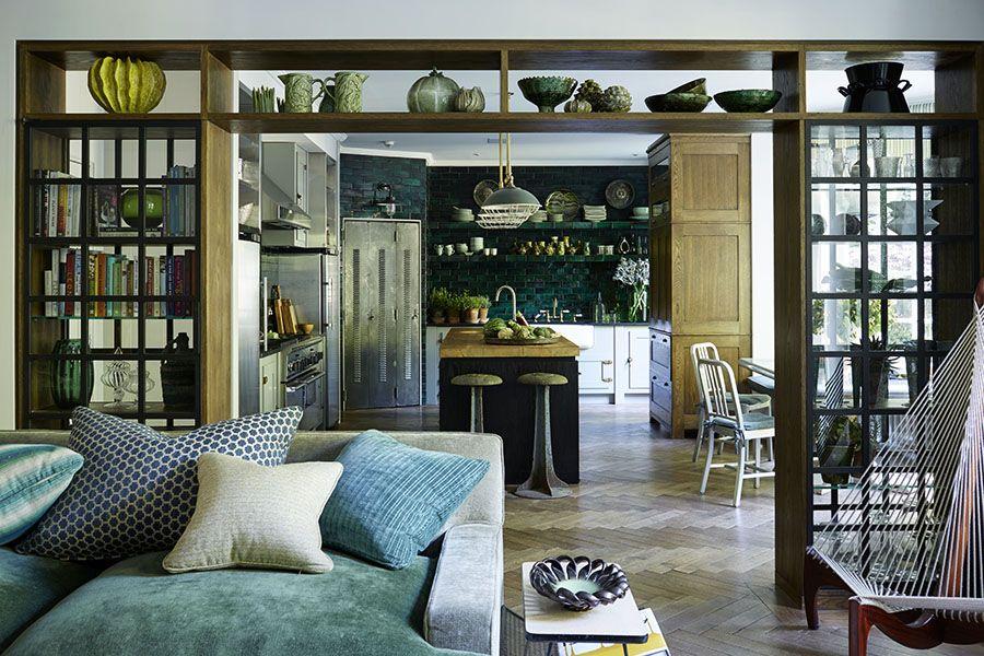 Photo of Fantastisk hjem i London – helt dekorert i grønt og blått