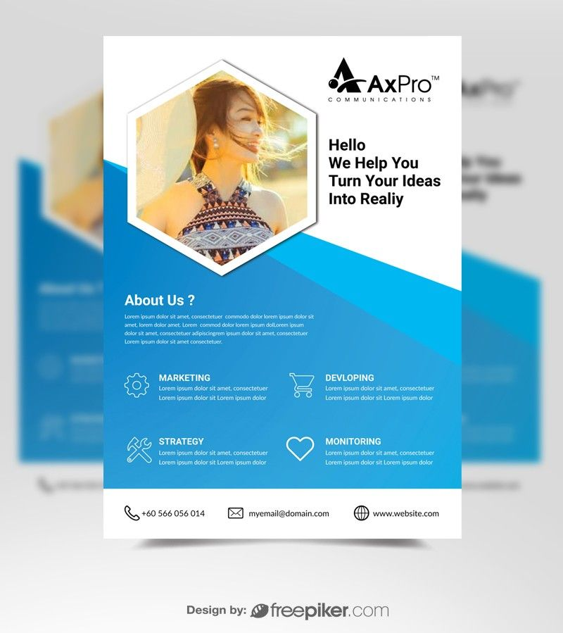 Business Corporate Template Flyer Design