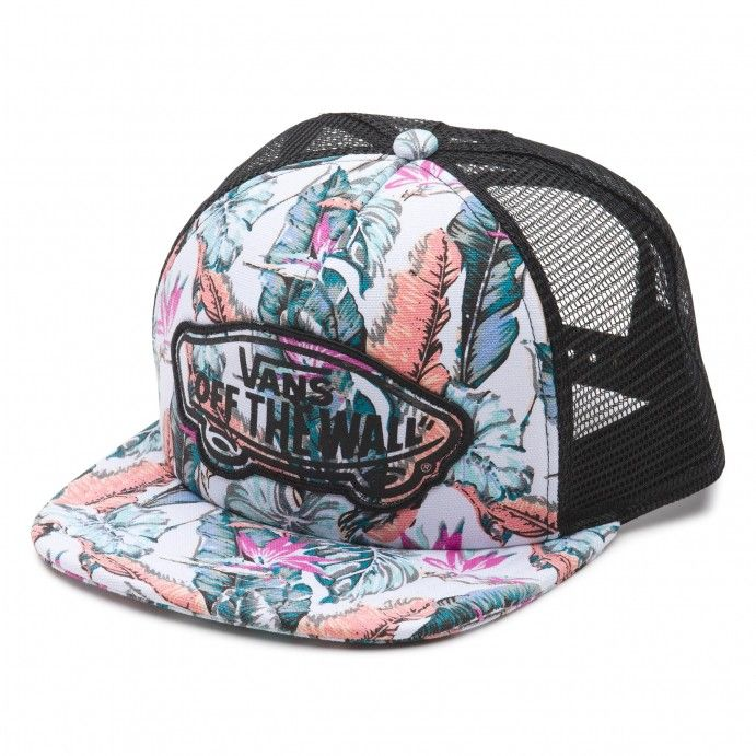 259052692e766 gorra plana vans beach girl trucker