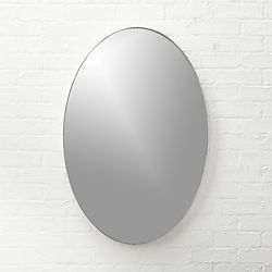 Infinity Silver Oval Wall Mirror 24x36 Bathrooms Pinterest