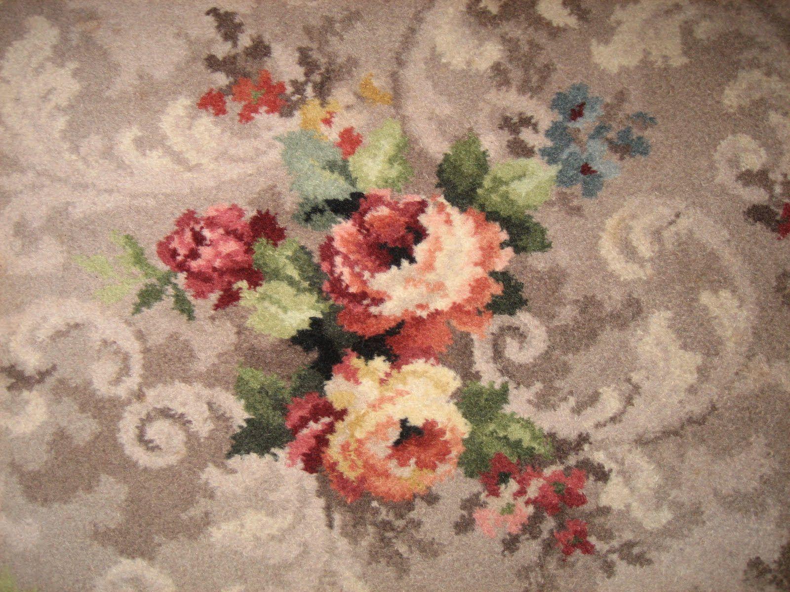 vintage patterned carpet | let's go moerkabout: farewell floral