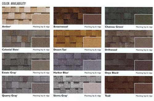 Shingle Roofing Colors Devore Roofing