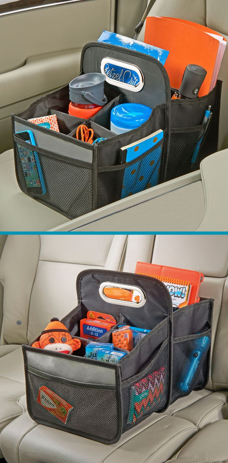 High Road Car Organizers Seat Organizer With Handle For Kids And