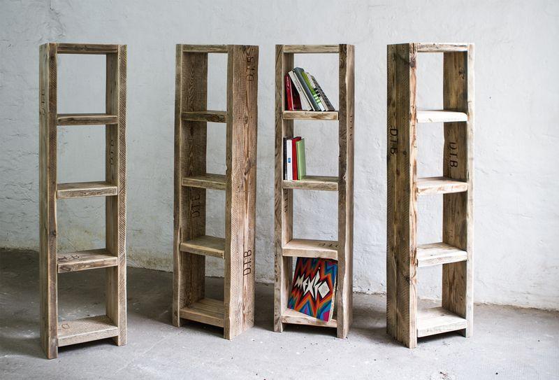 Holzregal Badezimmer ~ Bücherregale bücherregal aus altem bauholz badezimmer regal