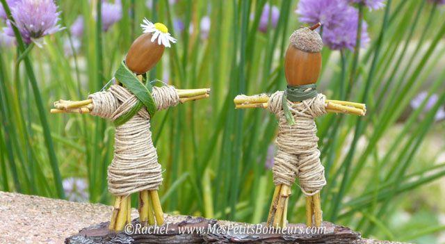 bricolage nature statuettes couple en bois b d pinterest en bois nature et bricolage. Black Bedroom Furniture Sets. Home Design Ideas