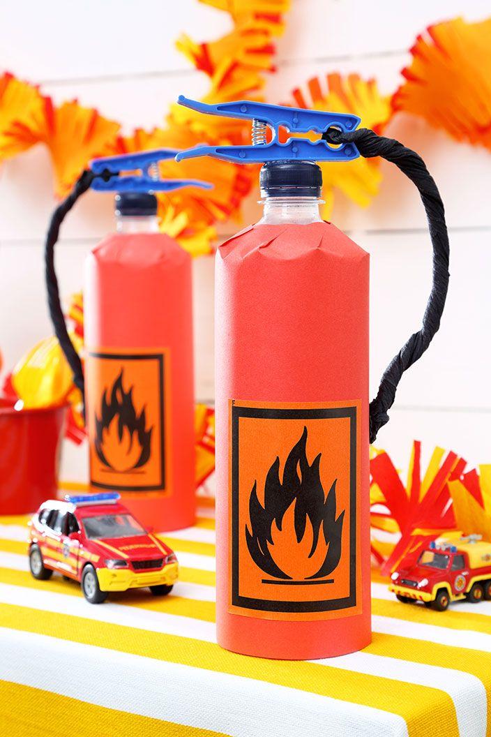 Wir feiern einen Feuerwehr-Geburtstag: Anleitung