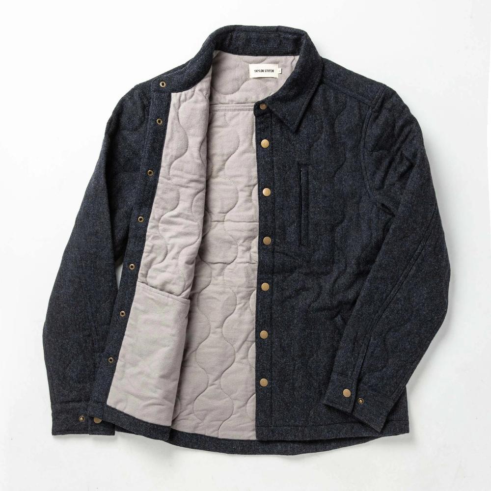 The Wilton Jacket In Navy Birdseye Wool Wool Jacket Men Jackets Taylor Stitch [ 1000 x 1000 Pixel ]