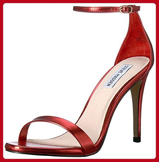 fbfffbec4cc89 Steve Madden Women's Stecy-m Dress Sandal, Red, 7.5 M US - All about ...