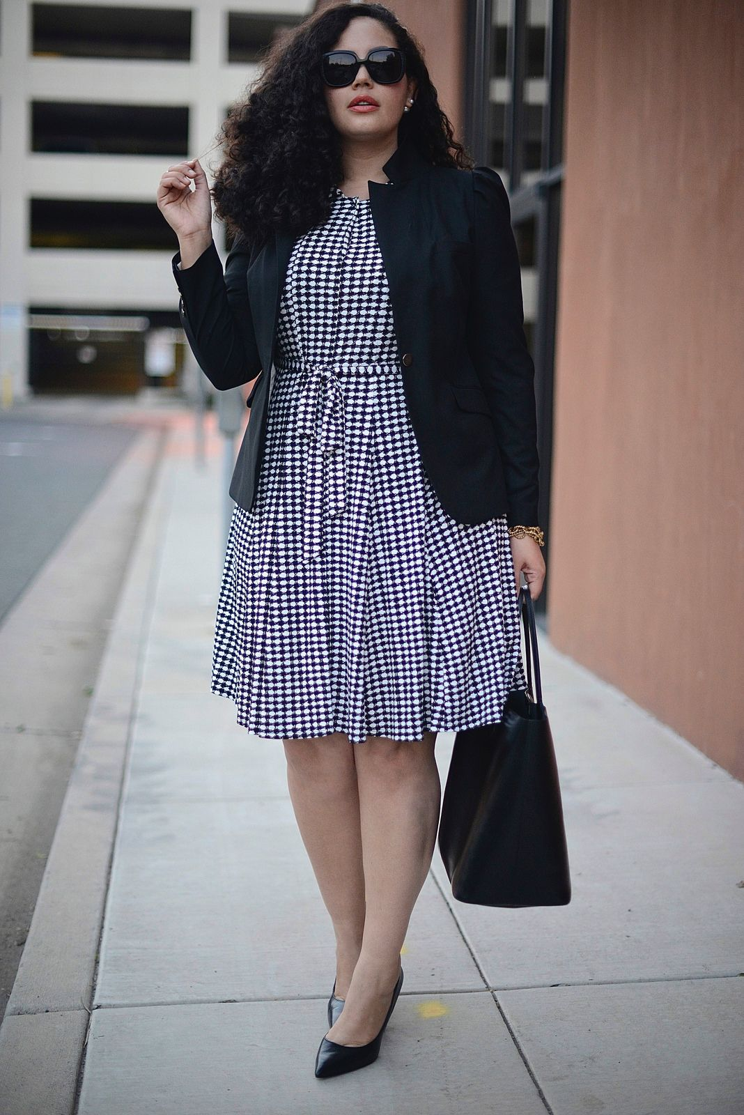 a427967ac6a How To Wear 1 Dress for Work   Weekend (Work Look)