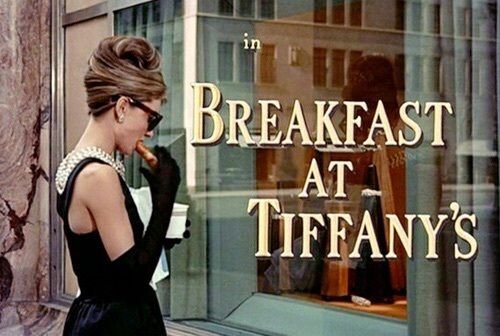 Audrey Hepburn starring in Breakfast at Tiffany's