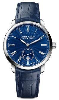 Ulysse Nardin Classico Manufacture Blue Grand Feu