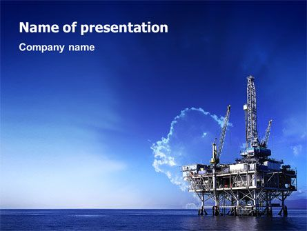 Httppptstarpowerpointtemplatedrilling platform free powerpoint templates backgrounds free powerpoint presentation templates ocean oil and gas toneelgroepblik Image collections