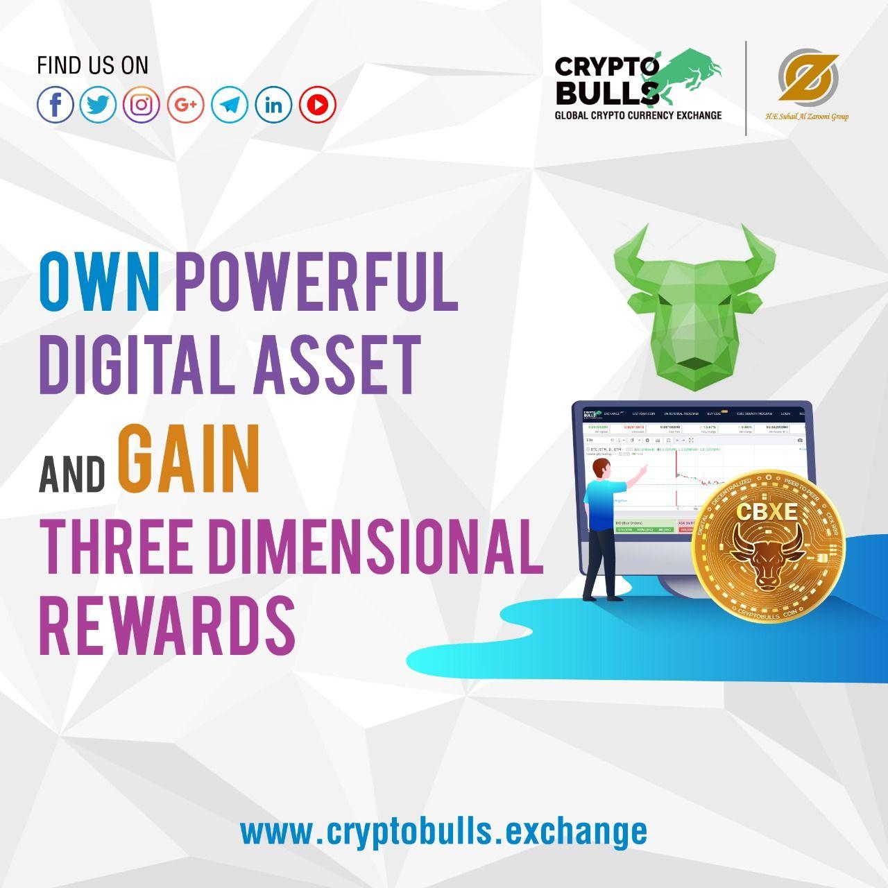 Own Powerful Digital Asset and Gain Three Dimensional