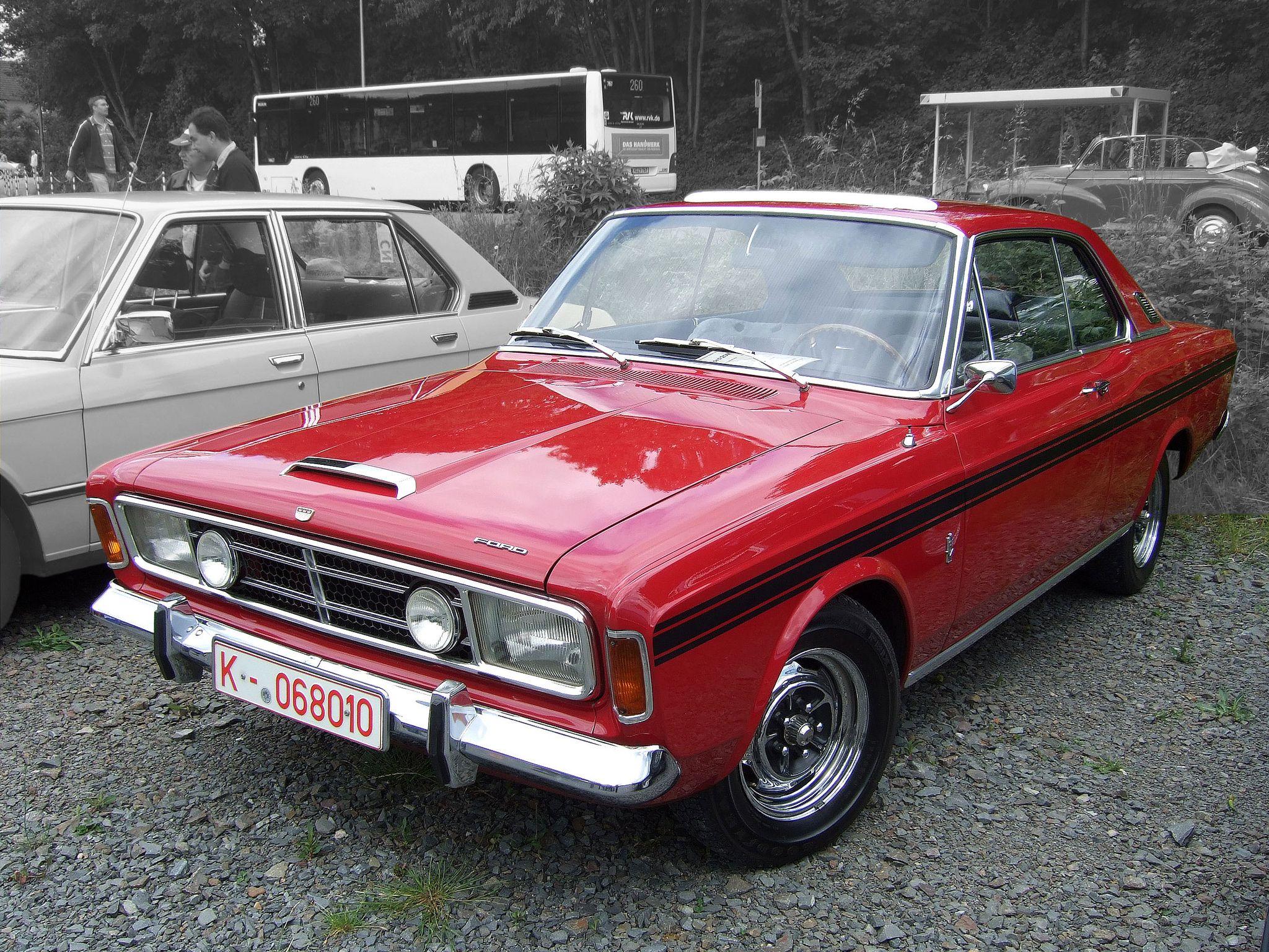 Ford 20m Rs 2300 Coupe P7a 1967 68 Deutsche Autos Oldtimer Schone Autos