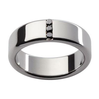 Black Diamond Wedding Ring D68 GROOM Pinterest Black diamonds